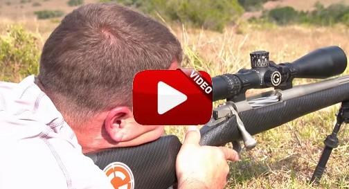 Abate un blesbok de un certero disparo ¡a más de un kilómetro de distancia!