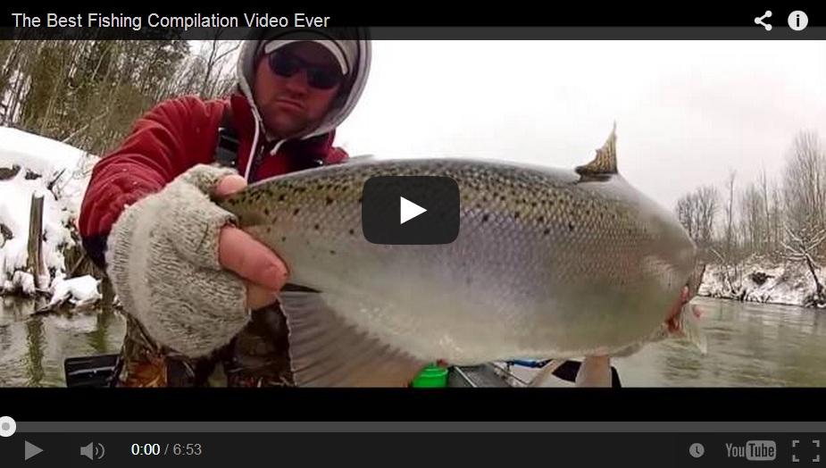 Los mejores vídeos de pesca ¡juntos!