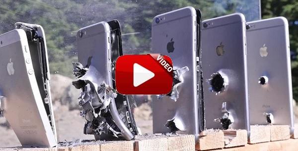 ¿Cuántos IPhones se necesitan para parar una bala?