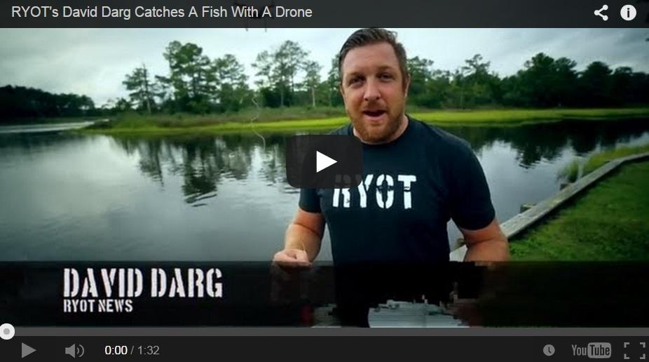 Pescando con drones