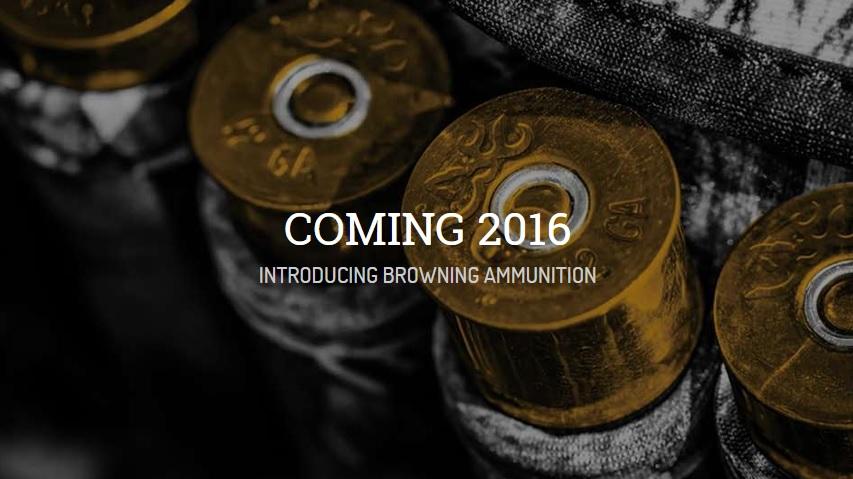 Browning presenta una gama completa de municiones