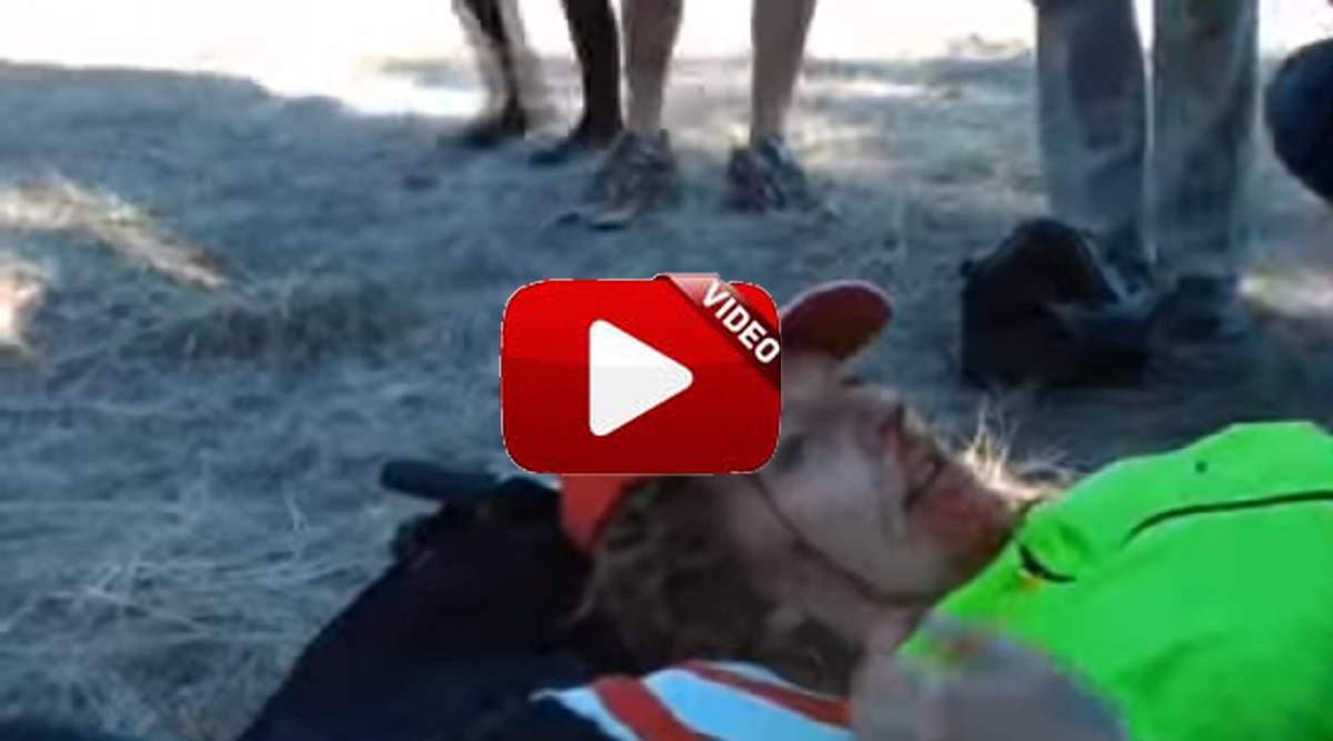 Una anticaza recibe un disparo cuando intentaba boicotear una cacería