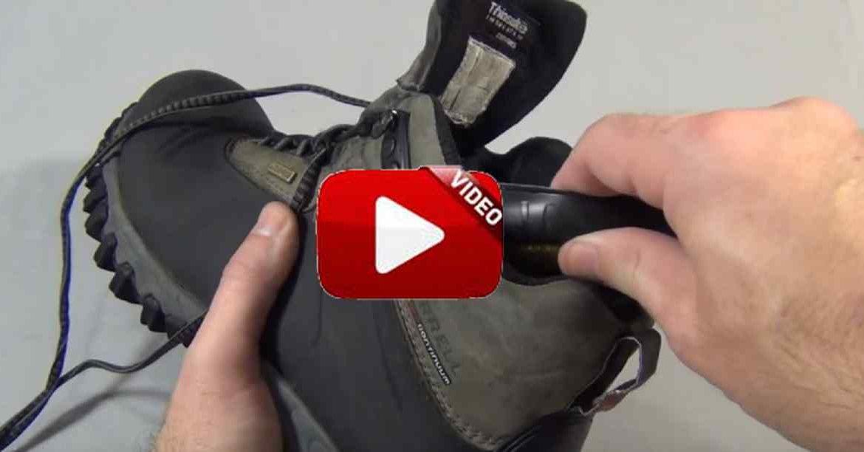 Fabrica unas cálidas plantillas para sus botas ¡con el parasol de su vehículo!