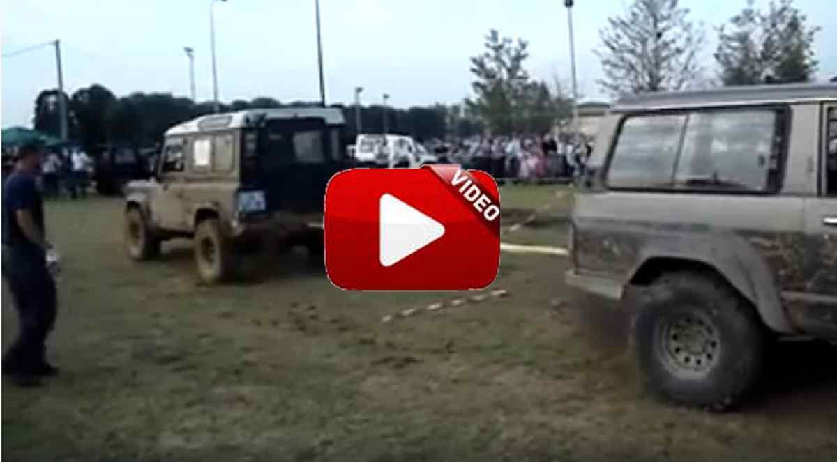 Land Rover Defender vs Nissan Patrol