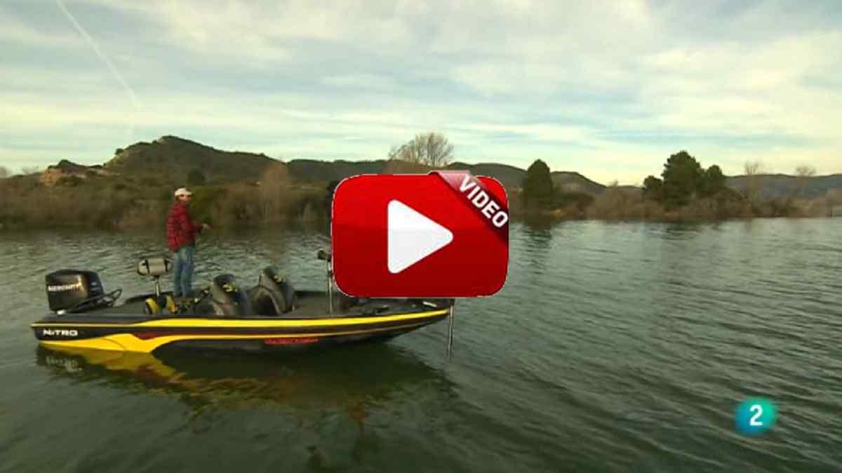 Pesca en invierno en Mequinenza