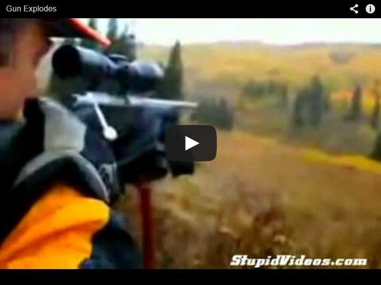 ¿Has visto alguna vez reventar un cañón?