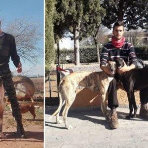Roban cinco perros a un cazador y le matan otros tres: «Ni yo ni mi familia tenemos ya vida»