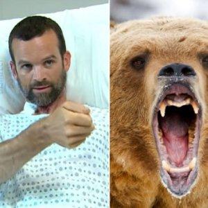 Sobrevive al ataque de un oso apuñalándolo con una navaja