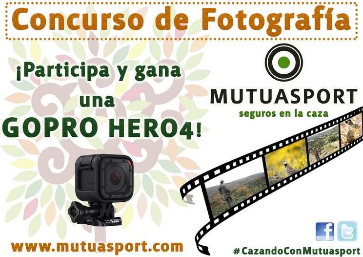 Mutuasport convoca el Concurso de Fotografía en Redes Sociales #CazandoConMutuasport