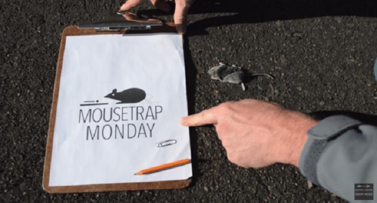 Construye una infalible trampa para ratones con material de oficina