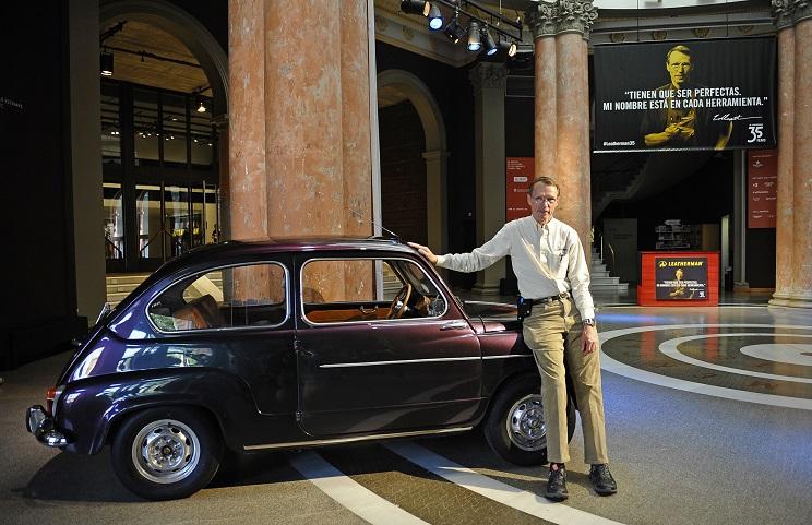 """Tim Leatherman: """"Si no fuese por el Fiat 600 y por mi mujer, las multiherramientas Leatherman no existirían"""""""