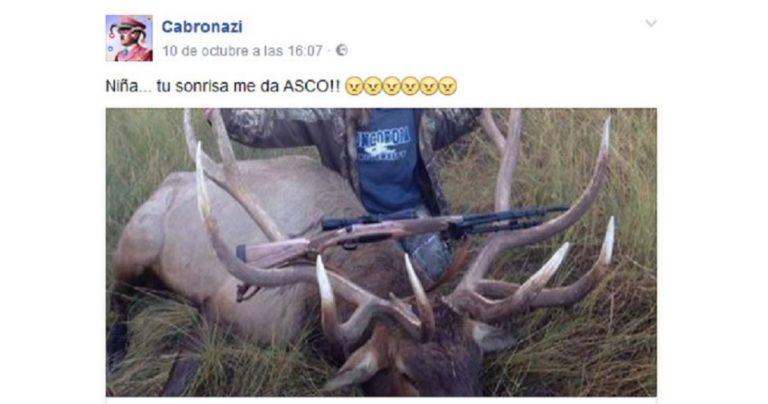 una-cazadora-abate-un-ciervo-record-y-le-llueven-los-insultos-de-los-animalistas