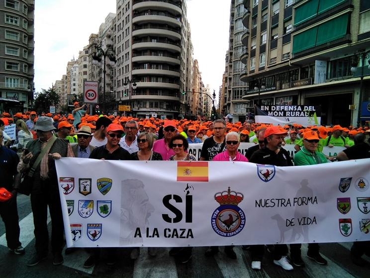 Manifestación de Valencia el pasado sábado / Fotografía: jaraysedal.es
