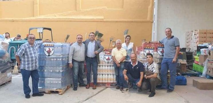 Los cazadores valencianos recaudan dinero para los afectados por las inundaciones
