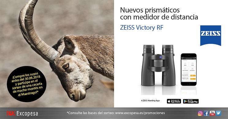 Estrena tus nuevos prismáticos Zeiss Victory RF con un rececho inolvidable