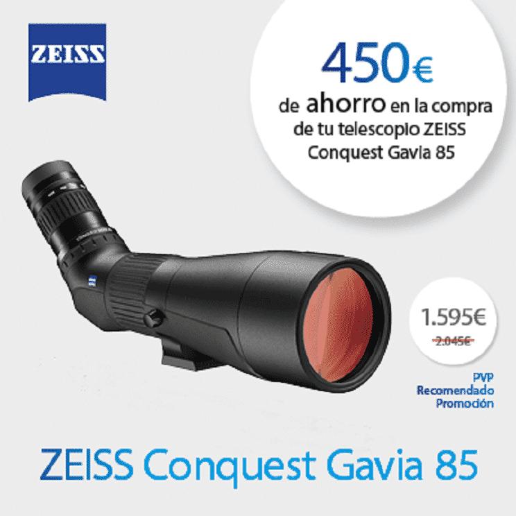 Promoción Zeiss Conquest Gavia 85