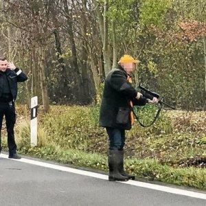 Los cazadores alemanes, una herramienta al servicio de la Policía en los accidentes de tráfico
