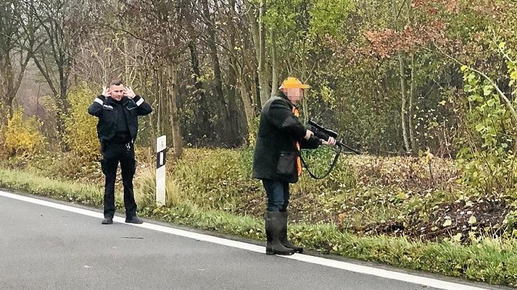 cazadores policía alemania