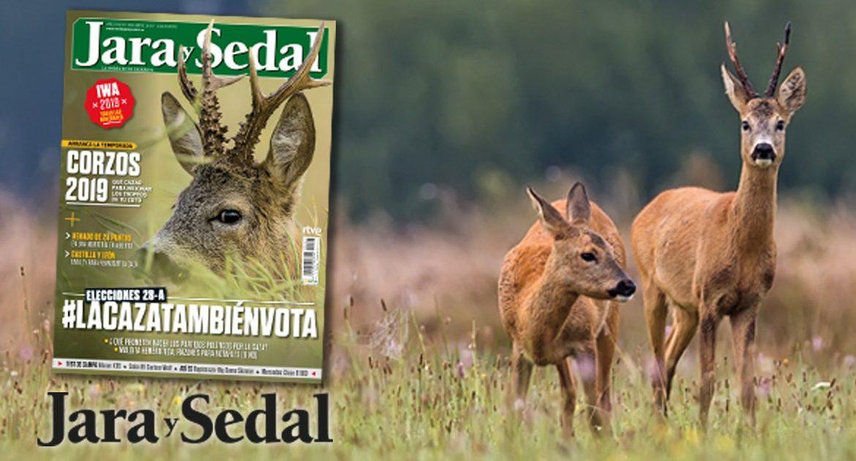 Corzos y #LaCazaTambiénVota: en abril, en tu revista Jara y Sedal