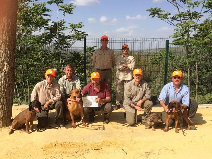 AEPES realiza nuevas pruebas de conductores de perros de sangre en Andalucía
