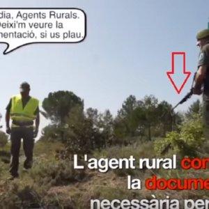 Los Agentes Rurales de Cataluña irán armados para inspeccionar a los cazadores