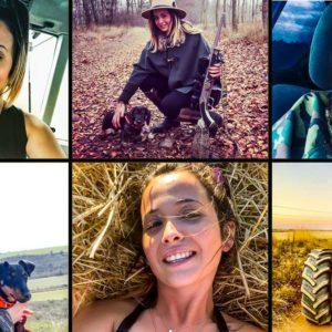 Cazadora, agricultora y ganadera con 24 años: así es la joven que conquista Instagram con su orgullo rural