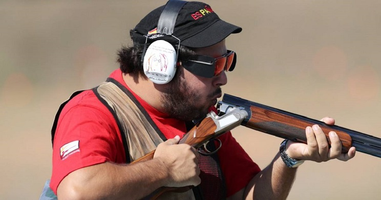 El español Alberto Fernández, campeón del mundo en tiro