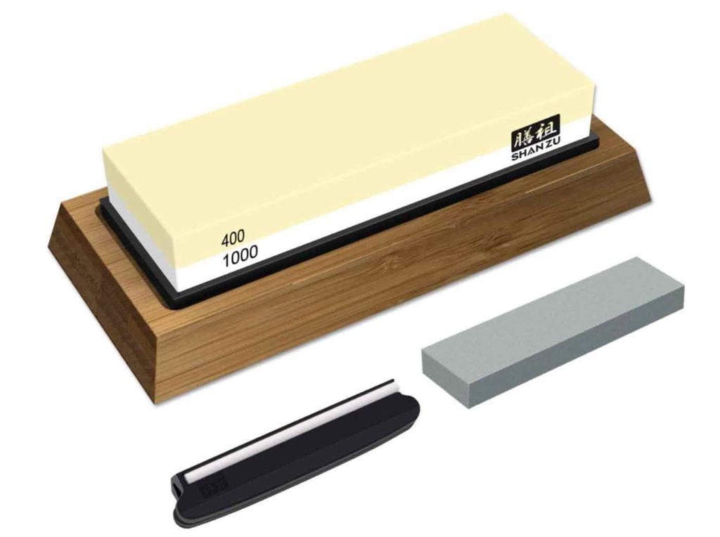 Piedra de afilar cuchillos para cazadores, una de las grandes novedades del amazon prime day.