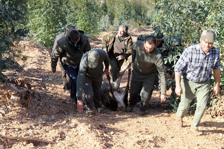 amenaza sociedades locales de caza Extremadura