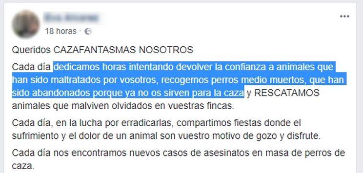 animalista desea que violen a una joven