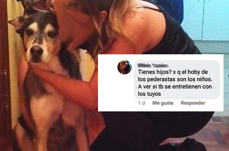 Una animalista pide en Facebook que un pederasta abuse de los hijos de un cazador