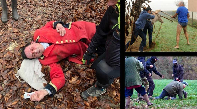 Varios casos de cazadores atacados por animalistas radicales.