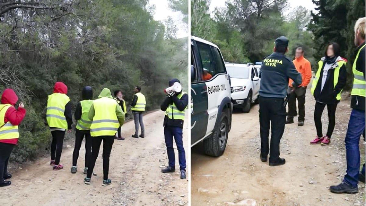 Histórico: a juicio 16 animalistas por boicotear una batida de jabalí en Valencia