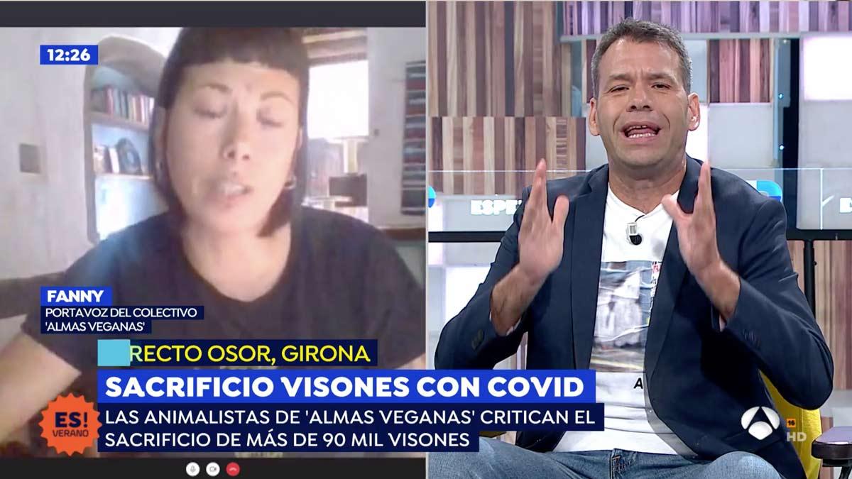 'Zasca' antológico de Rubén Amón a la animalista de las gallinas violadas y el argumentario vegano