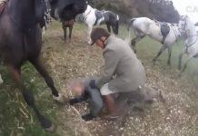 animalistas hacen perder los nervios a cazadores