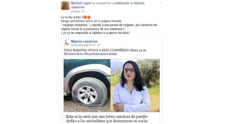Animalistas intentan boicotear la página de Facebook de Mujeres Cazadoras
