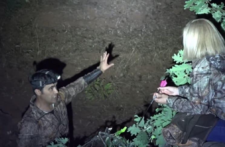 Una anticaza acompaña a un cazador en un experimento sin precedentes