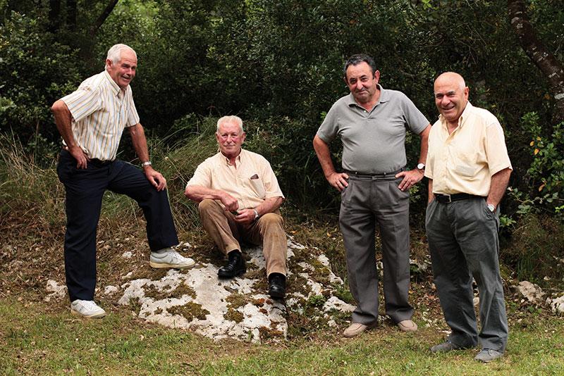 Ricardo, Pepito, Eusebio y Quilo