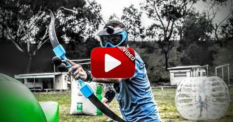 Archery Attack, la combinación perfecta entre Paintball y Tiro con Arco
