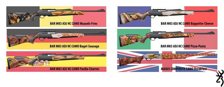 armas-browning-camuflaje-comida