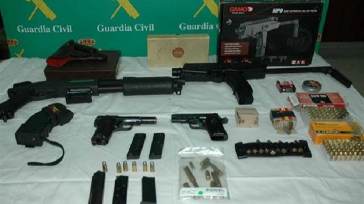 armas guardia civil