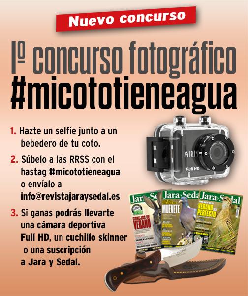 Jara y Sedal lanza el concurso fotográfico #micototieneagua