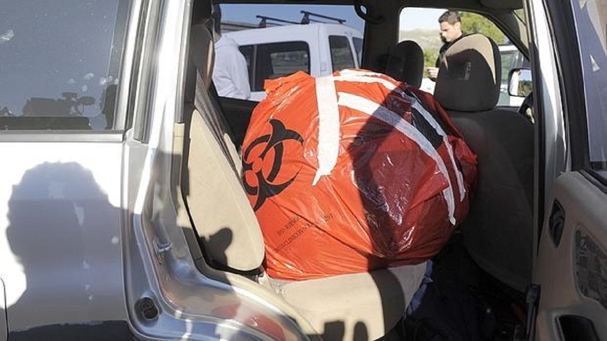 Varios cazadores encuentran una 'bola espacial' en Murcia