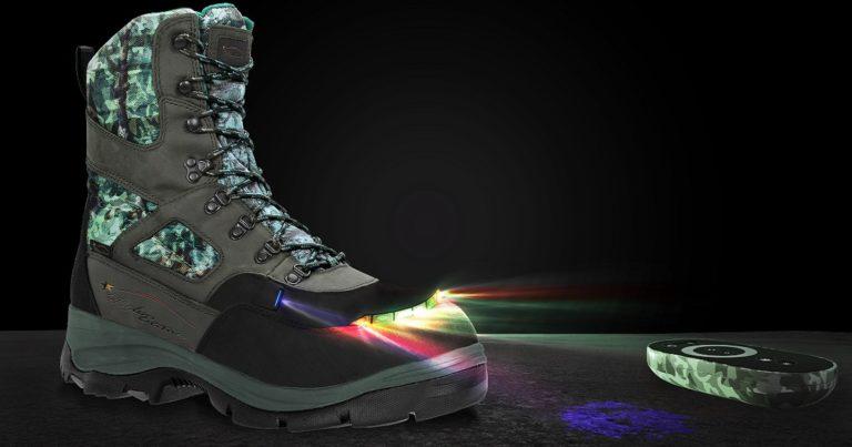 botas con luz negra