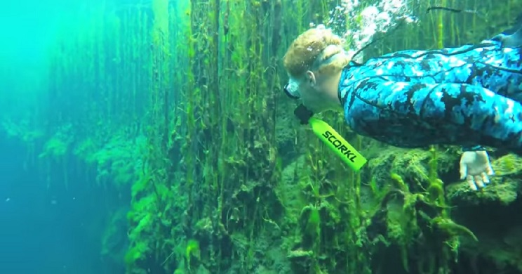 Tres alucinantes dispositivos que te permitirán respirar bajo el agua