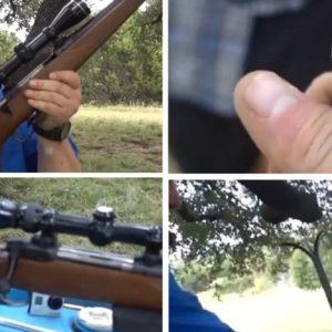 Esto es lo que pasa si disparas con el cañón de un arma taponado