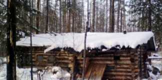 cabaña de cazadores