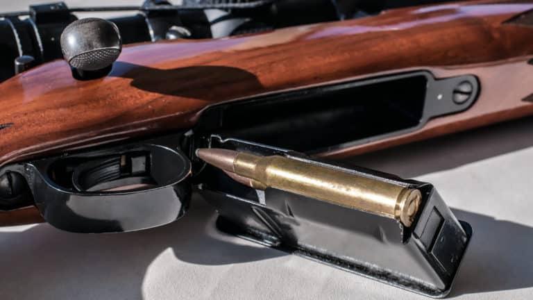 Rifle del calibre .30-06 para caza. ©Shutterstock