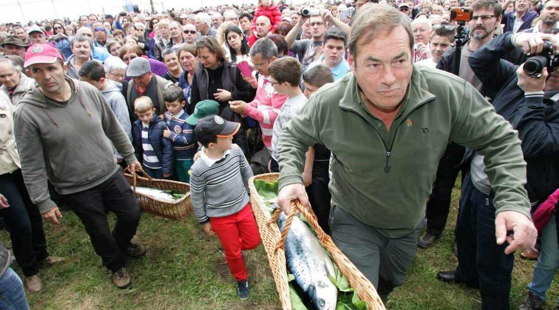 La pesca del salmón en Asturias y el origen del campanu