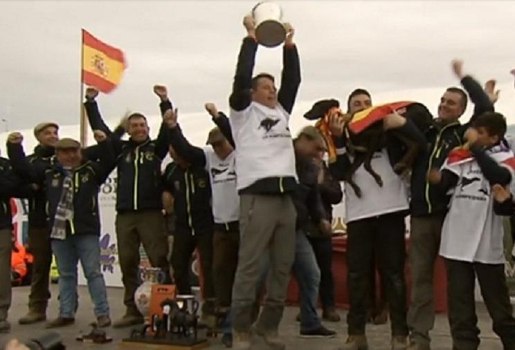 Final del Campeonato de España de Galgos en Campo de 2018